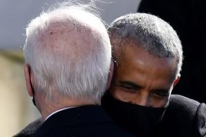 바이든 안은 오바마의 축하