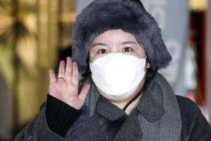 """에이미, 5년 만에 한국땅 밟았다 """"새 출발 하고파"""" [EN스타]"""