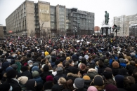 """미국 '나발니 석방' 시위 지지에 러 """"내정간섭"""" 발끈"""