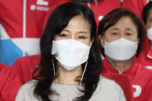 오세훈 부인 송현옥 씨 포착