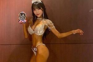 개그우먼 이세영 '명품 S라인' 피트니스 대회 2관왕
