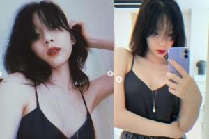 [포토] 태연, 슬립 원피스로 '몽환적 섹시미'