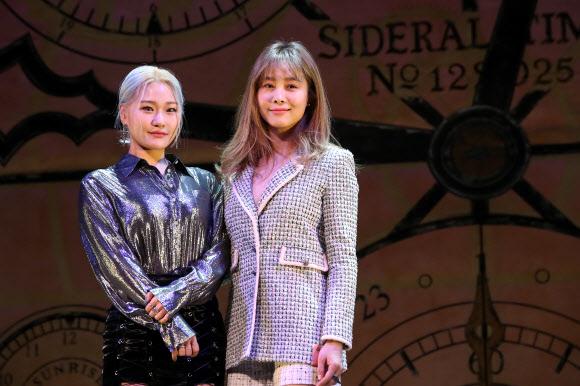 뮤지컬 '위키드' 배우 손승연-옥주현