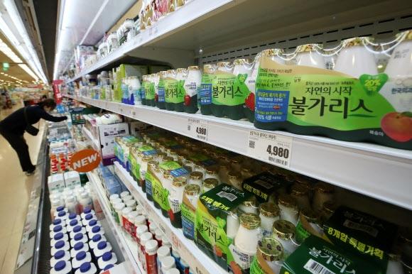 Namyang Dairy's Bulgaris, the start of this crisis.  yunhap news
