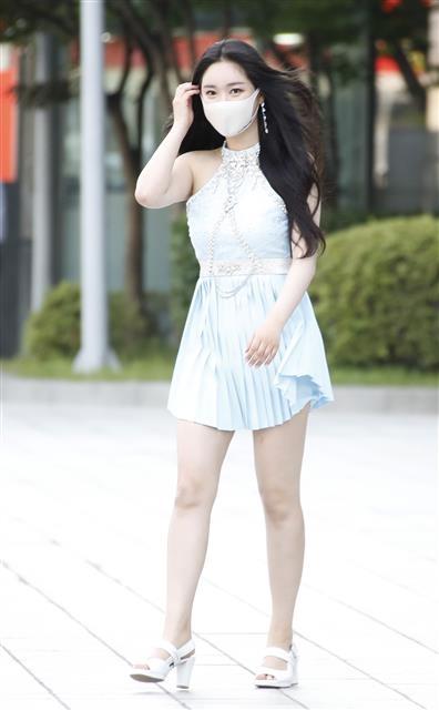 브레이브걸스 민영, '서머퀸'의 '치맛바람'