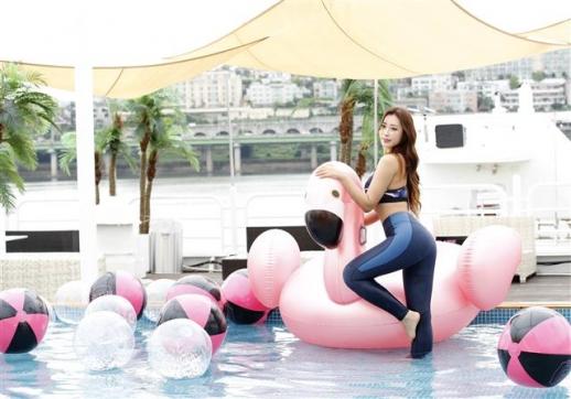 박은혜, 저랑 한강 데이트 어때요?